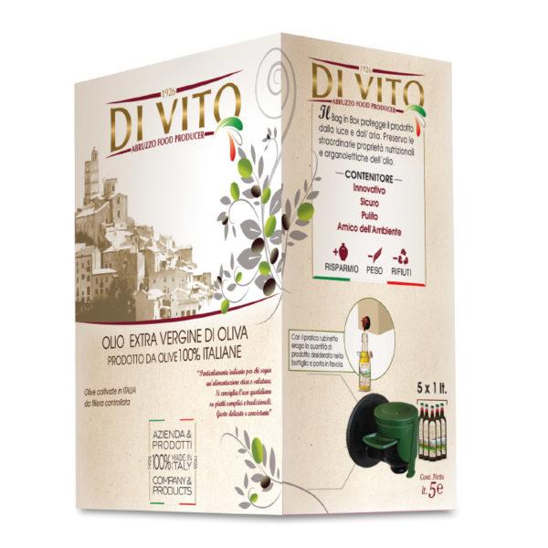 Di Vito Food Olio Extra Vergine di Oliva - Bag in Box 5 lt