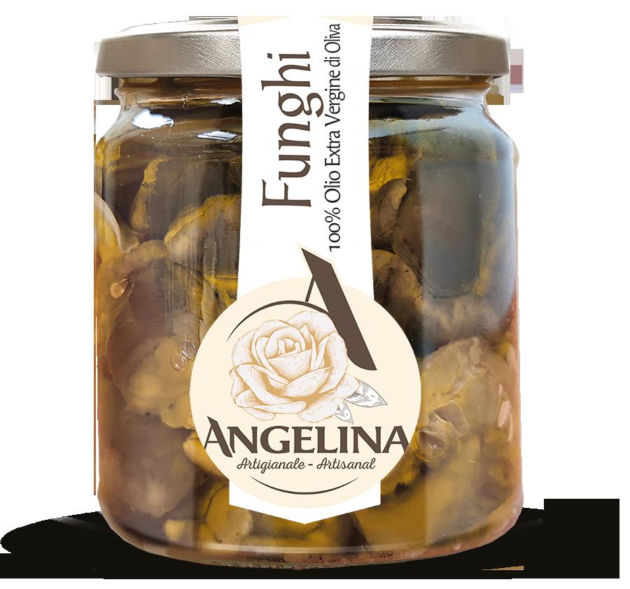 angelina funghi in olio evo