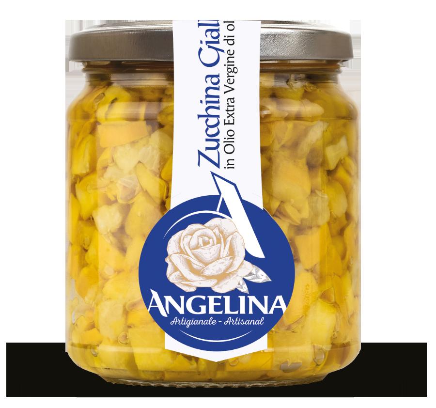 angelina zucchina gialla in olio evo