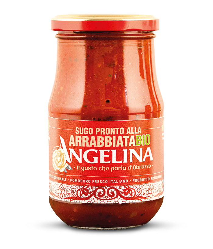 Angelina: sugo pronto all'arrabbiata BIO